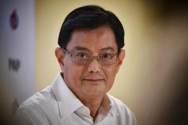 Phó Thủ tướng kiêm Bộ trưởng Tài chính Singapore Vương Thụy Kiệt. (Nguồn: straitstimes.com)
