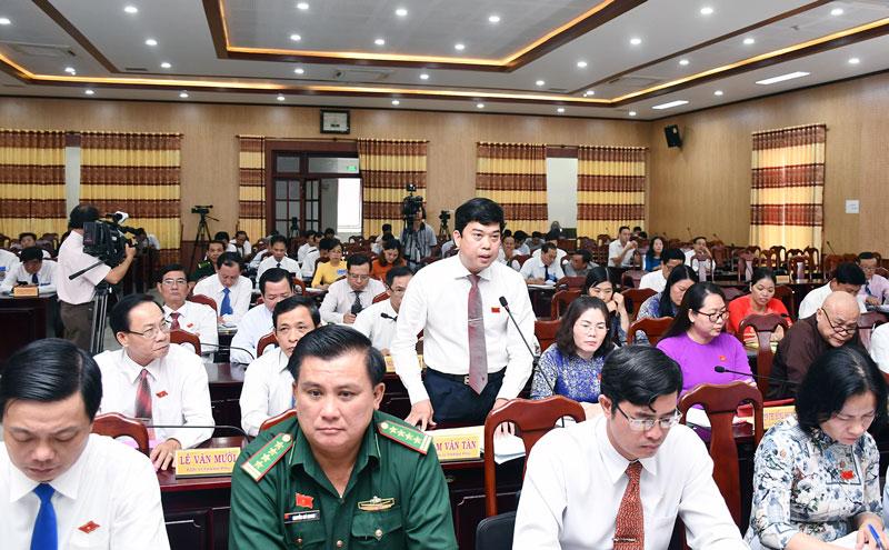 Giám đốc Sở Khoa học và Công nghệ Lâm Văn Tân