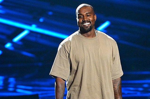 Ngôi sao nhạc rap Kanye West. (Nguồn: Mirror).