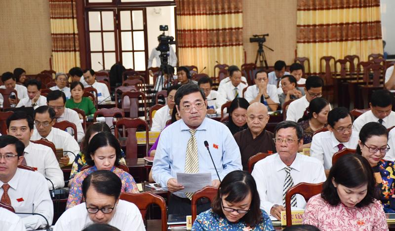 Phó giám đốc Công an tỉnh Lê Văn Hòa. Ảnh: Hữu Hiệp