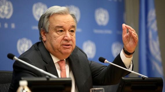 Tổng Thư ký Liên Hợp Quốc Antonio Guterres (Ảnh: NPR)