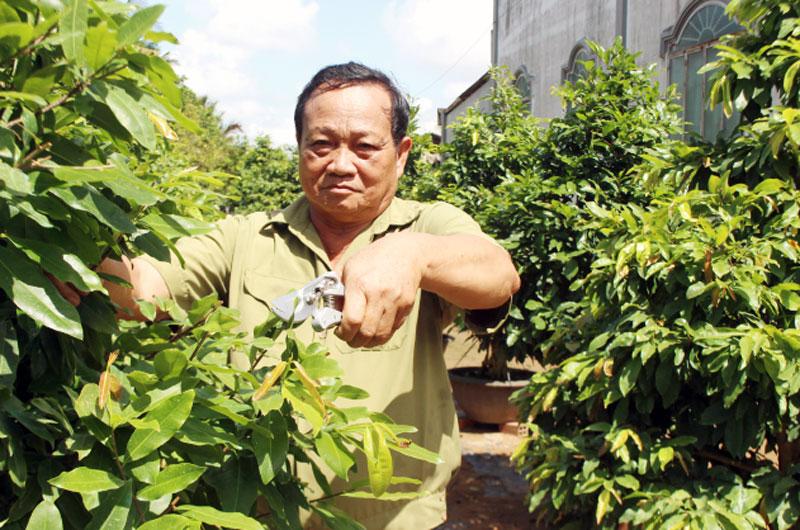 Cựu chiến binh Trương Văn Trưng.
