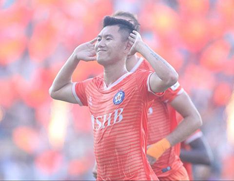 Phan Văn Long đã có trận đấu ấn tượng cho SHB.ĐN.