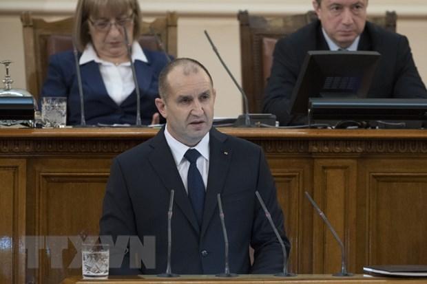 Tổng thống Bulgaria Ruman Radev. Ảnh: AFP/TTXVN