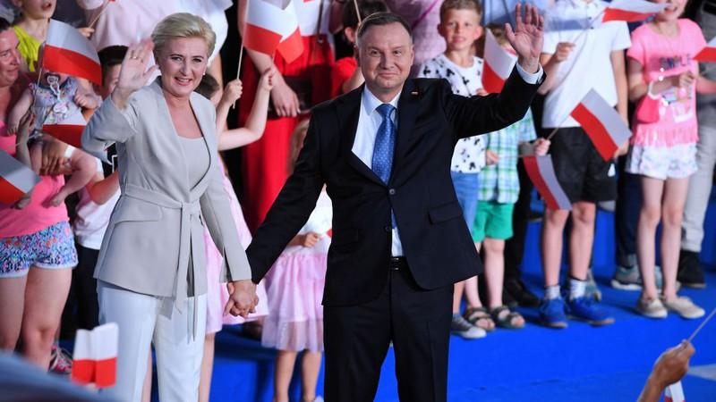 Tổng thống đương nhiệm Ba Lan tái đắc cử. Ảnh: polandin.com