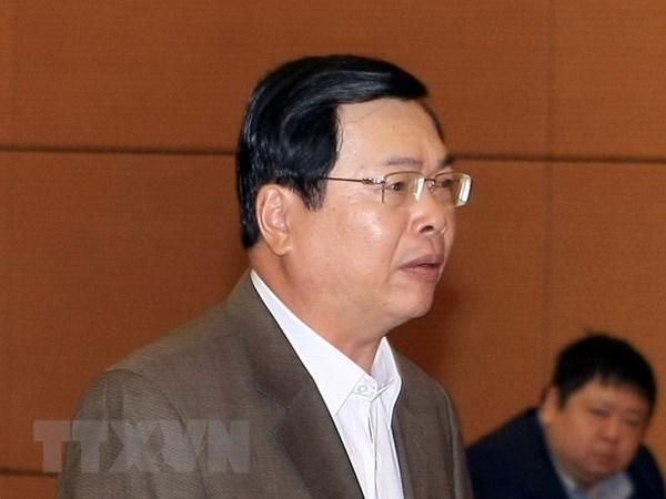 Bị can Vũ Huy Hoàng. Nguồn: TTXVN