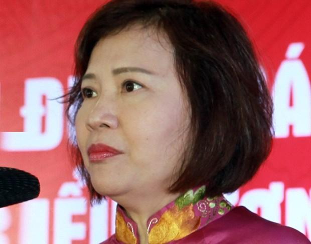 Bị can Hồ Thị Kim Thoa. (Nguồn: TTXVN)
