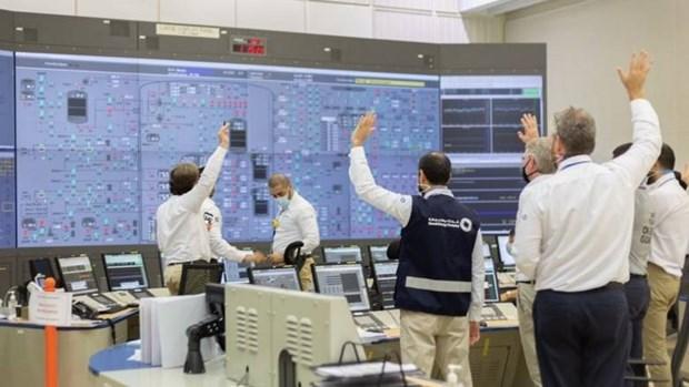 Một phòng điều khiển trong nhà máy điện hạt nhân Barakah. (Nguồn: khaleejtimes.com)
