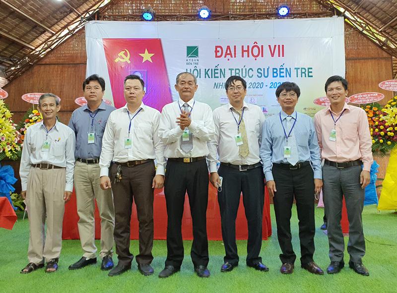 Ban Chấp hành Hội Kiến trúc sư Bến Tre nhiệm kỳ 2020 - 2025 ra mắt.