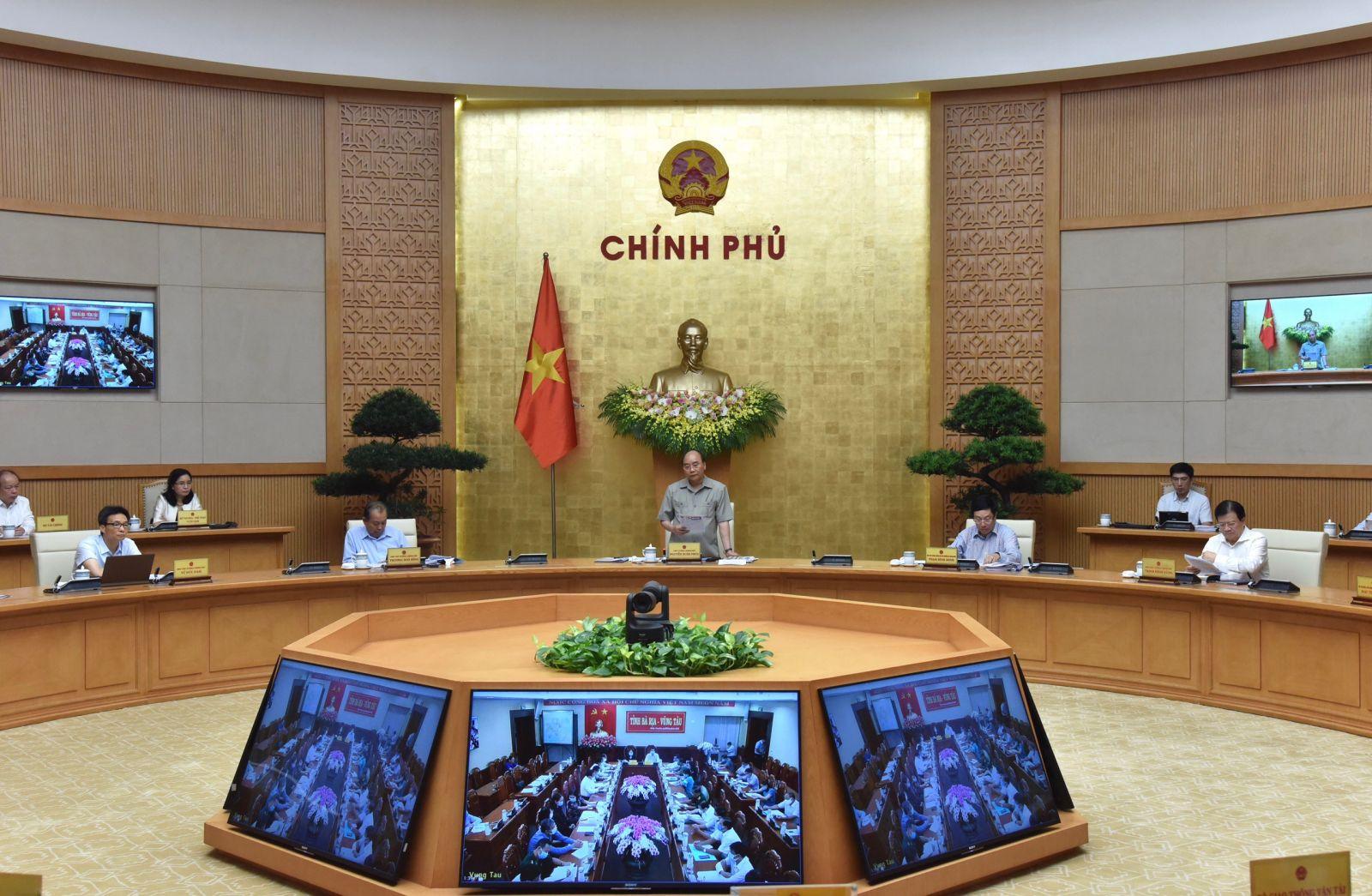 Thủ tướng phát biểu mở đầu cuộc họp. Ảnh VGP/Quang Hiếu
