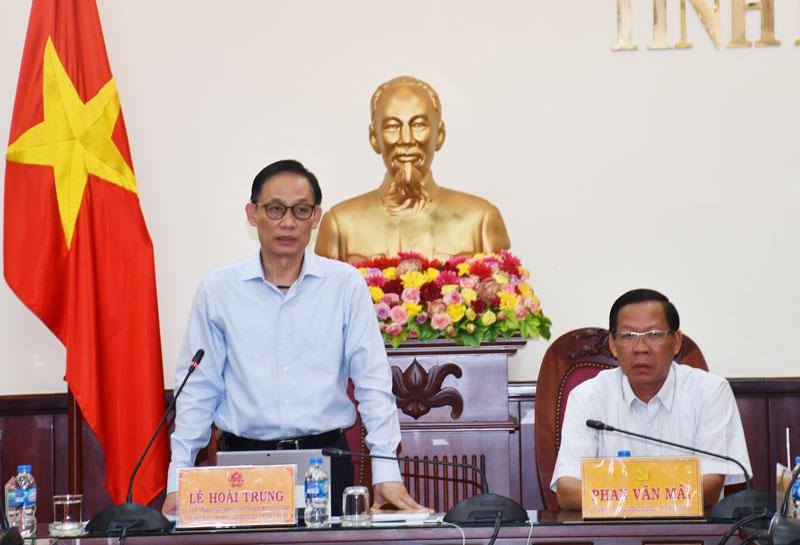 Phát biểu của Thứ Trưởng Bộ Ngoại giao Lê Hoài Trung.