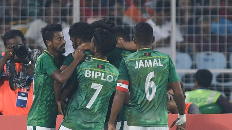 11 cầu thủ Bangladesh dương tính COVID-19. Ảnh: AFC.