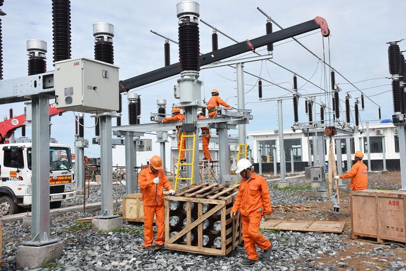 Huyện Thạnh Phú đang đẩy mạnh thu hút đầu tư trên lĩnh vực năng lượng điện gió.