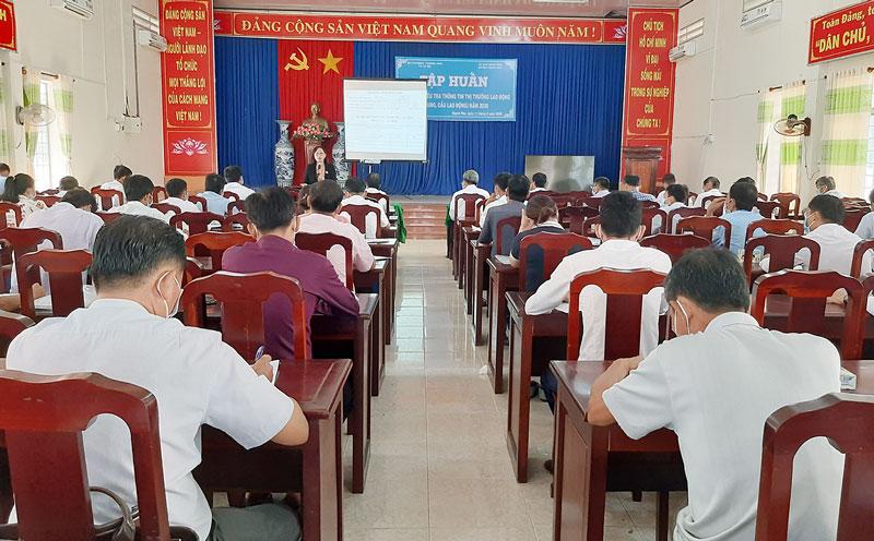 Đại biểu dự tập huấn. Ảnh: Văn Minh