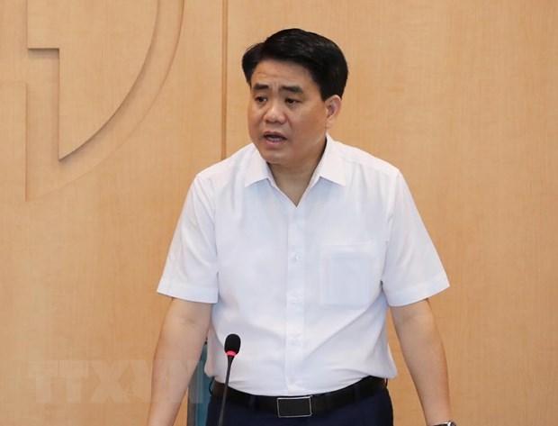 Ông Nguyễn Đức Chung. Ảnh: Lâm Khánh/TTXVN