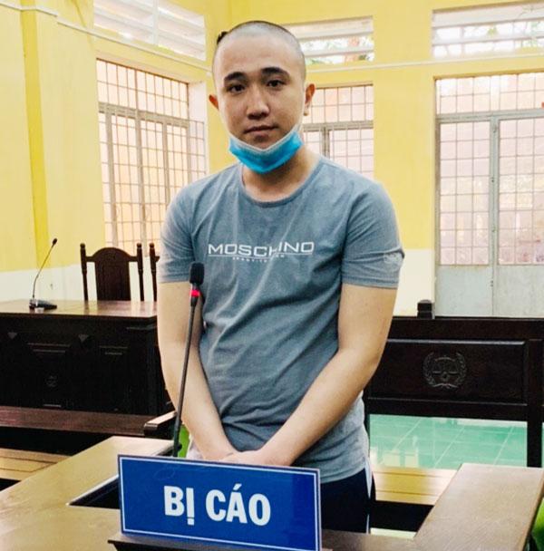 Bị cáo Đỗ Thành Dương tại phiên tòa.