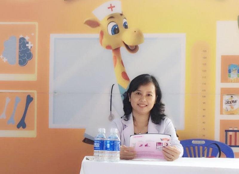 Bác sĩ Lê Thị Hoàng Yến. Ảnh: T.G