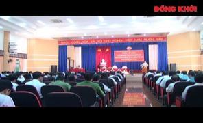 Hội nghị sơ kết giữa nhiệm kỳ thực hiện Nghị quyết Đại hội Đảng bộ TP. Bến Tre, nhiệm kỳ 2015 - 2020