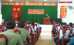 Diễn tập phòng chống thiên tai và tìm kiếm cứu nạn tại xã Châu Hòa và Tân Lợi Thạnh