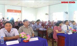 Khánh thành đường liên xã Châu Hòa, huyện Giồng Trôm