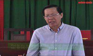 Phó bí thư Thường trực Tỉnh ủy Phan Văn Mãi kiểm tra xây dựng nông thôn mới tại Chợ Lách