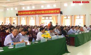 Phó chủ tịch nước Đặng Thị Ngọc Thịnh thực hiện an sinh xã hội tại huyện Giồng Trôm