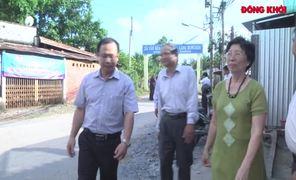 Lãnh sự Cuba tại TP. Hồ Chí Minh thăm Làng Moncada xã Lương Hòa