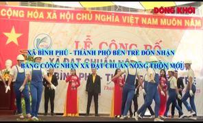 Bình Phú được công nhận xã nông thôn mới