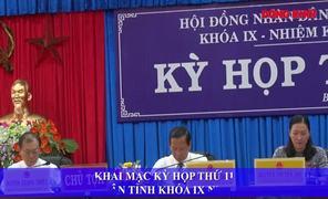 Khai mạc Kỳ họp thứ 11 HĐND tỉnh, khóa IX