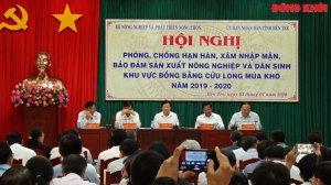 Phó thủ tướng Trịnh Đình Dũng chỉ đạo phòng, chống hạn mặn