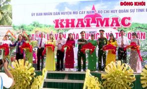 Mỏ Cày Nam khai mạc Tuần lễ Văn hóa-Du lịch và Tết dân quân 2020