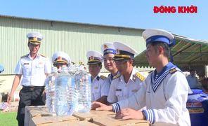 Trao bồn chứa nước ngọt cho người dân ảnh hưởng hạn mặn tại Thạnh Phú
