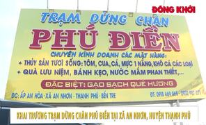 Khai trương trạm dừng chân Phú Điền