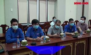 Đoàn Thanh niên Văn phòng Chính phủ hỗ trợ nước ngọt
