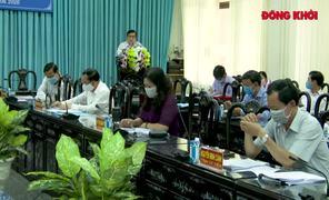 Bế mạc Hội nghị lần thứ 20 Ban Chấp hành Đảng bộ tỉnh khoá X