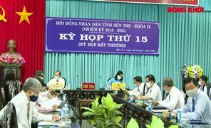 Kỳ họp HĐND tỉnh lần thứ 15, khóa IX, nhiệm kỳ 2016 - 2021