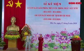 Kỷ niệm 45 năm Ngày giải phóng miền Nam thống nhất đất nước và 130 năm Ngày sinh Chủ tịch Hồ Chí Minh