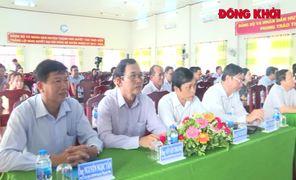 Khánh thành công trình trường học và lộ nông thôn
