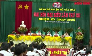 Đại hội đại biểu Đảng bộ huyện Mỏ Cày Bắc thành công tốt đẹp
