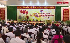 Đại hội đại biểu Đảng bộ huyện Ba Tri thành công tốt đẹp