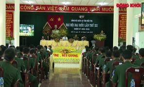 Đại hội đại biểu Đảng bộ Quân sự tỉnh thành công tốt đẹp