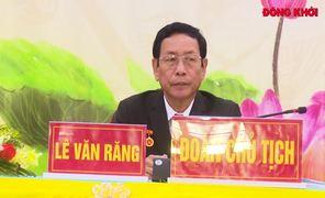 Đại hội đại biểu Đảng bộ huyện Bình Đại nhiệm kỳ 2020 - 2025