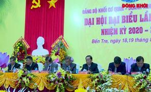 Đại hội đại biểu Đảng bộ Khối Cơ quan - Doanh nghiệp tỉnh, nhiệm kỳ 2020 - 2025