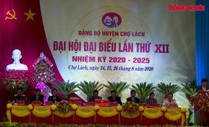 Đại hội đại biểu Đảng bộ huyện Chợ Lách nhiệm kỳ 2020-2025 thành công tốt đẹp