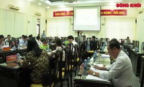 Họp góp ý báo cáo Tầm nhìn chiến lược phát triển tỉnh đến năm 2030, tầm nhìn 2045