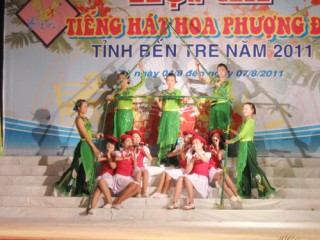 Thạnh Phú đoạt giải nhất