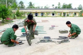Trung đoàn 895 và Đại đội 19 hoàn tất công tác chuẩn bị huấn luyện tân binh