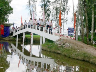 Hoạt động của Hội Khoa học kỹ thuật Cầu đường đã đóng góp tích cực, hiệu quả vào phong trào xây dựng giao thông nông thôn, phục vụ thiết thực nhiệm vụ phát triển kinh tế - xã hội tỉnh nhà