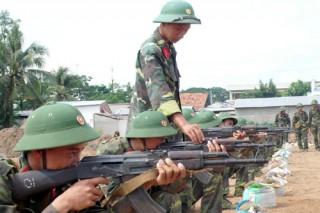 Nâng cao chất lượng công tác tuyển quân và huấn luyện sẵn sàng chiến đấu