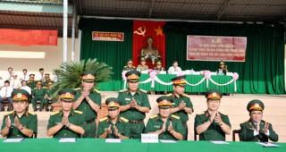 Lực lượng vũ trang Bến Tre ra quân thực hiện công tác huấn luyện năm 2012